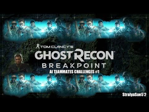 GHOST RECON BREAKPOINT AI CHALLENGES 1-6 (NEW)  