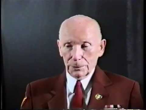 John Harold Browe, Major, US Army, World War Two, 1997 Interview