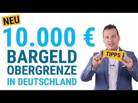10.000 Euro Bargeld Obergrenze in Deutschland 💶 Was ändert sich? 💶