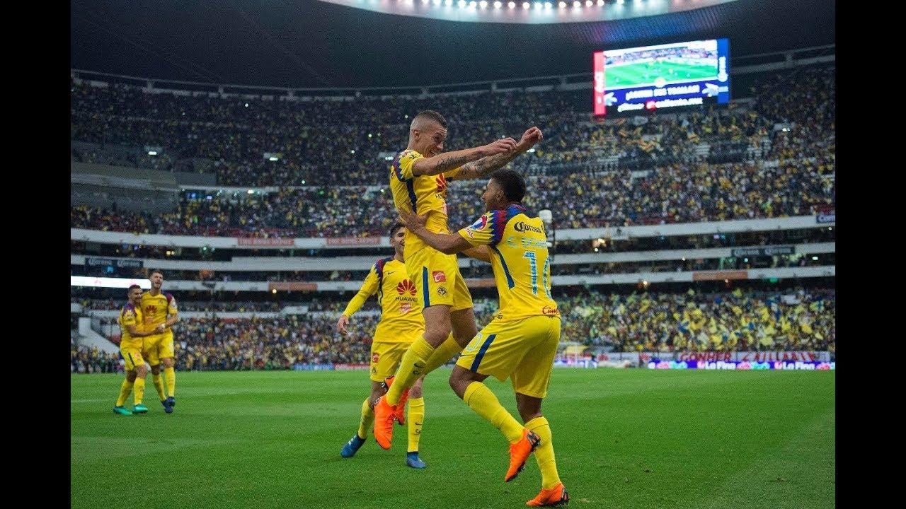 da27ea18e19 Resumen  Todos los goles Club América 2-1 Cruz Azul