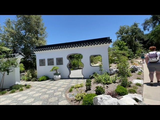 A Tour of the New Chinese Gardens at the Huntington Library and Gardens.
