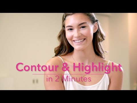 how-to:-contour-&-highlight-in-2-minutes-with-grace-elizabeth