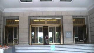 Le bâtiment principal de style Teïkan (litt. «la Couronne impériale...