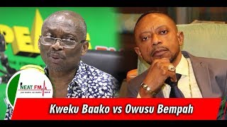 I'll Descend Into The Gutters With Kweku Baako...He Is A Fool! - Rev. Owusu Bempah