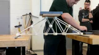 NSCC Civil Engineering Tech. 2014 Year 1 Bridge Building Project