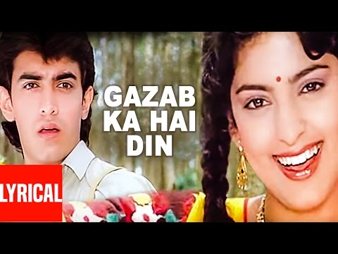 Mix - Gazab Ka Hai Din Lyrical Video | Qayamat se Qayamat Tak | Aamir Khan, Juhi Chawla