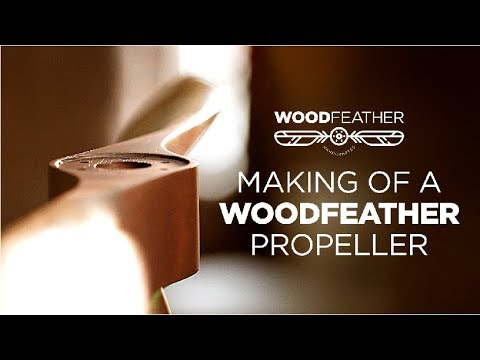 Making of a WoodFeather Airplane Propeller