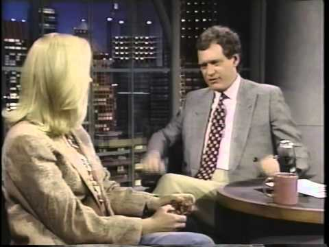 Cybill Shepherd on David Letterman 1992