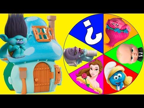 Trolls Villain Chef Plays the Smurfs Toys Game Part 6 - Boss Baby, Power Rangers | LOL Surprise