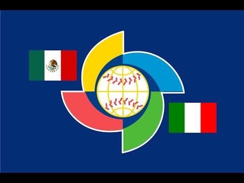 2017 World Baseball Classic: Italy Vs. Mexico Highlights