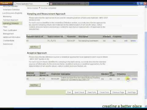 ETSWAP Video Help 06: Applying for a Variation to a GHG Permit (ETS9)