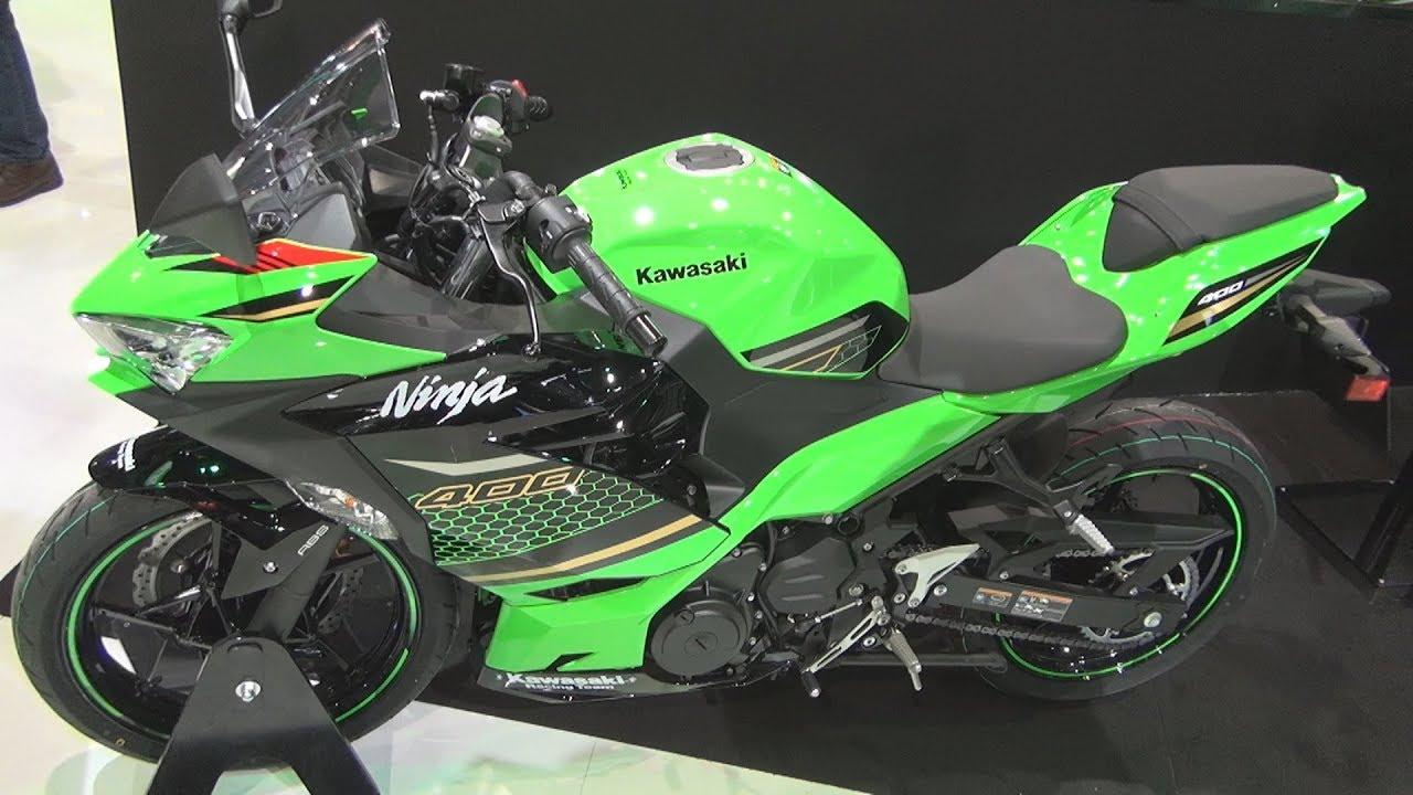 video Kawasaki Ninja 400