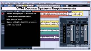 Cubase 5 Tutorial - Lesson 01: Intro