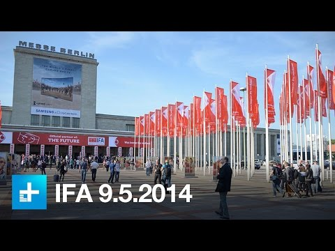 IFA 2014 Day 3 - Up close with Robot window cleaners, bendable 4K TVs, and from IFA 2014