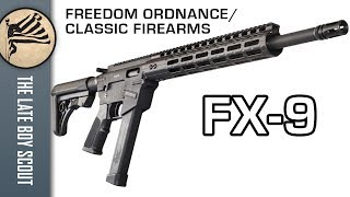 Best 9mm AR Yet? FX-9 by Freedom Ordnance
