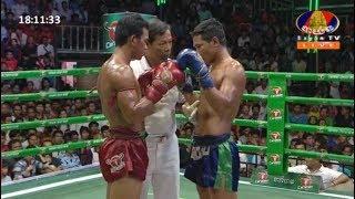 ចាន់ វ៉ារិទ្ធ Vs សុខ សុវណ្ណ, 19/August/2018, BayonTV Boxing   Khmer Boxing Highlights