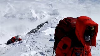 video: Watch: Chinese team summit Mount Everest during Covid-19 pandemic
