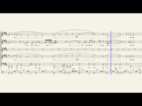 Imagine - Pentatonix (Full Sheet Music)