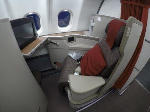 NEW GARUDA INDONESIA Business Class | A330-300 | Jakarta-Shanghai
