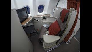 NEW GARUDA INDONESIA Business Class   A330-300   Jakarta-Shanghai