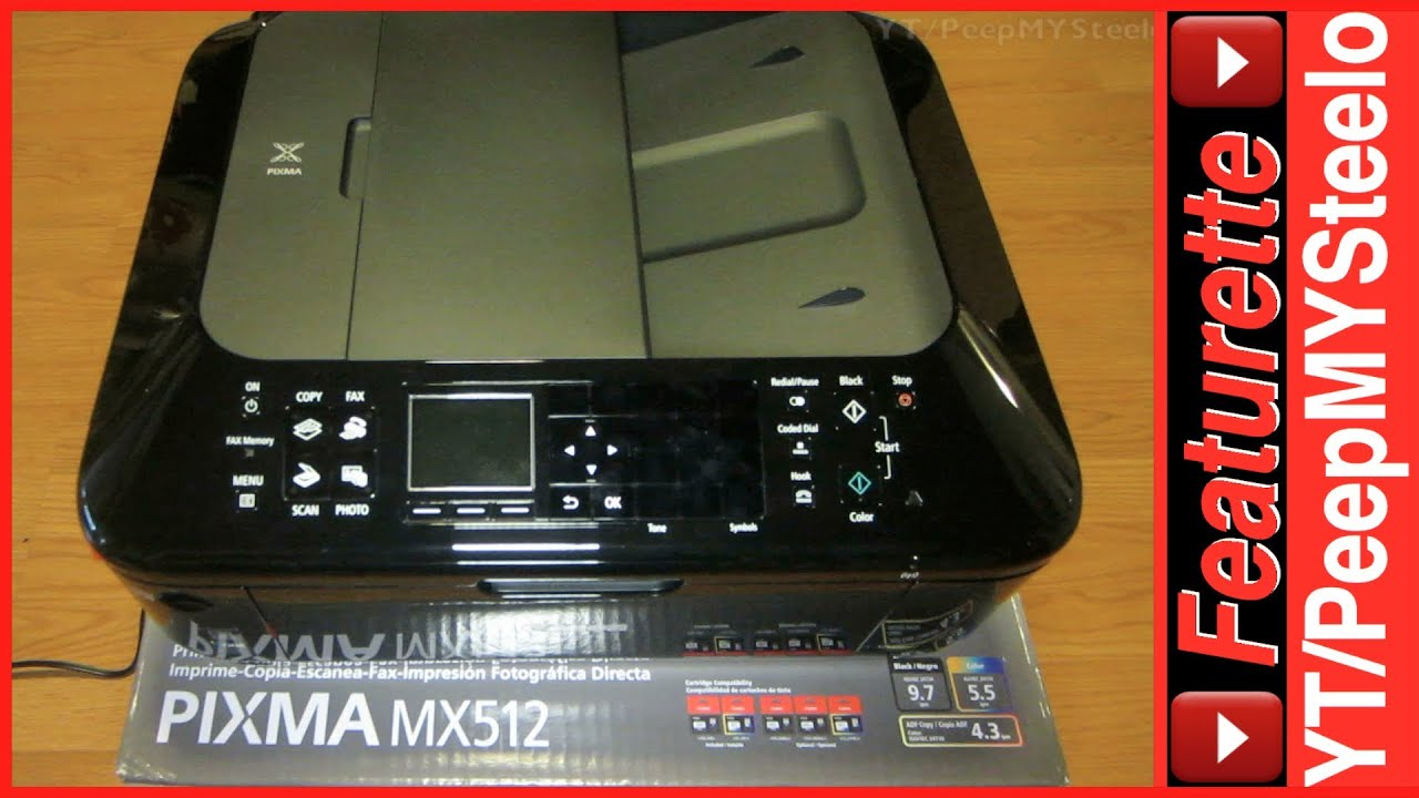 CANON MX512 PRINTER DRIVER FOR WINDOWS 10