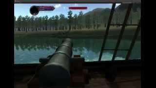 Остров Пираты - Битва за Родину - Тест корабля