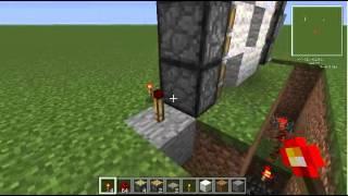 Minecraft Rehberi - Otomatik piston kapı nasıl yapılır?