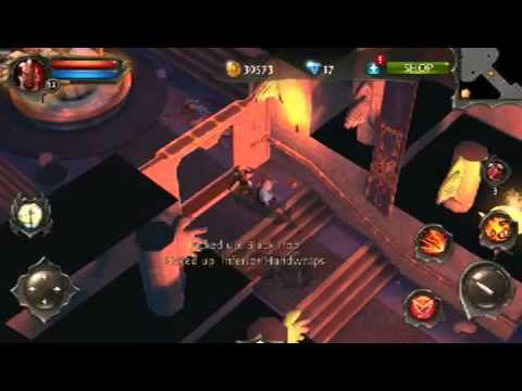 Dungeon Hunter 4 Gameplay+Boss Fight