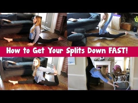 how to get splits fast