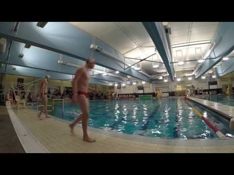 HF vs Lyons Township Men's Water Polo 3/16/2017