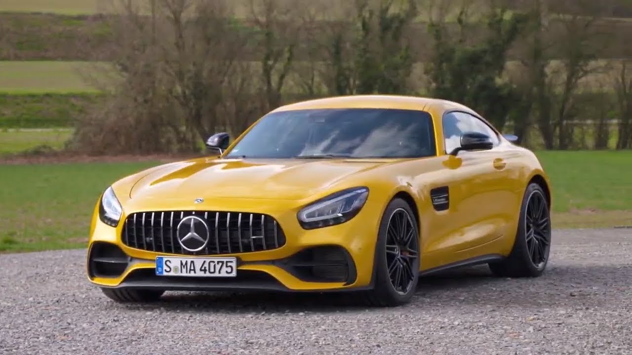 2020 Mercedes AMG GT Photos