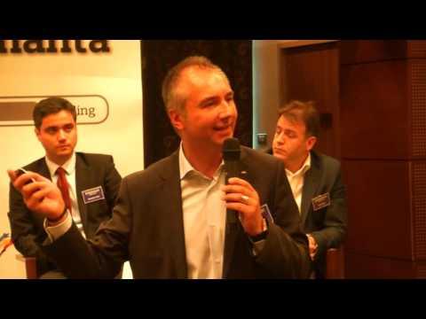 Felix Daniliuc (Raiffeisen Leasing si RBL) la Conferinta Antreprenoresti, iunie 2016