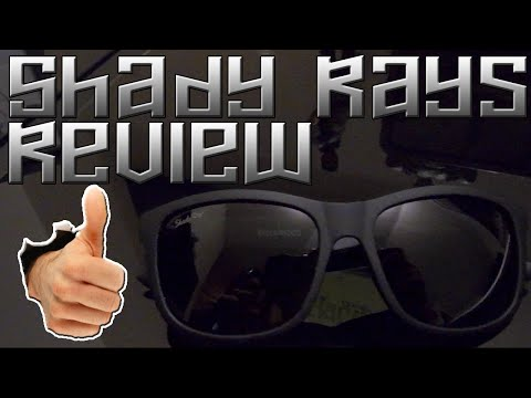 The Best Sunglasses?! Best Warranty Around! | Shady Rays - Review