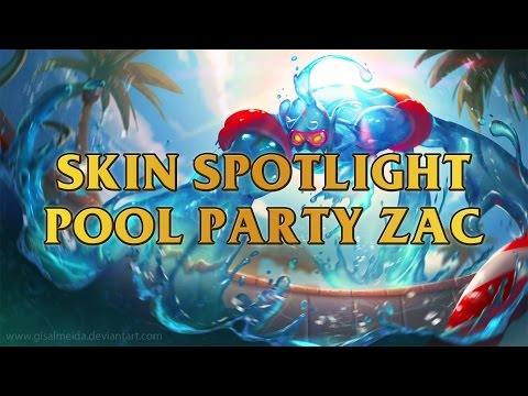 Chillout Pool Party Zac Skin Spotlight