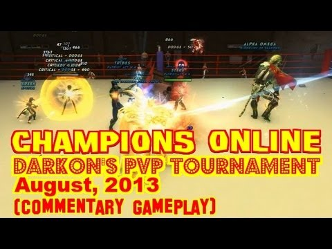 ★ Champions Online PvP - Darkon's PvP Tournament, August 2013 (with Commentary)