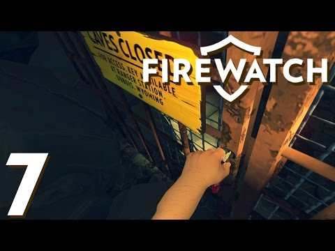 The Curiosity of the Cave - Firewatch Gameplay - Let's Play Ep 7