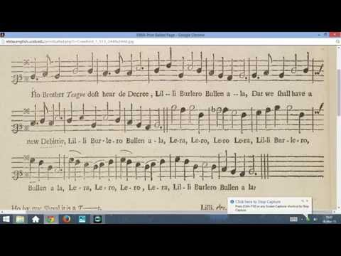 How to Sing Broadside Ballads