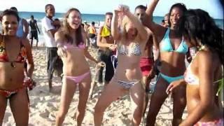 Пляж Санта Мария Гавана Куба танцы
