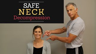 Safest Neck Decompression at Home, Easy to Use!