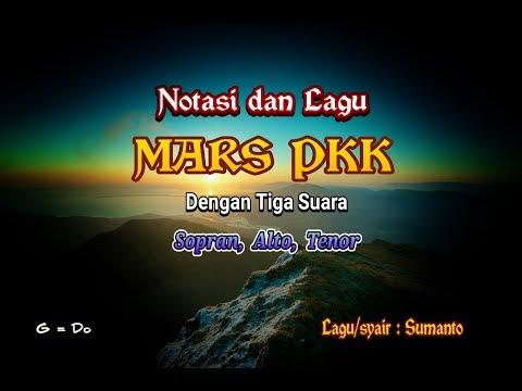 Syair dan Lagu Mars PKK dengan tiga suara