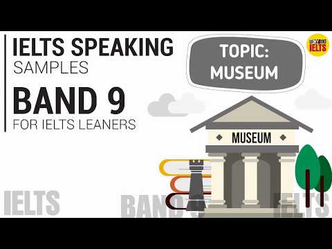IELTS SPEAKING TEST SAMPLE BAND 9 SERIES 5 (Part 1,2,3): TOPIC - TV, INTERNET, MUSEUM