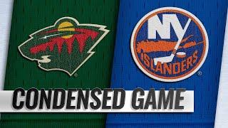 02/10/19 Condensed Game: Wild @ Islanders