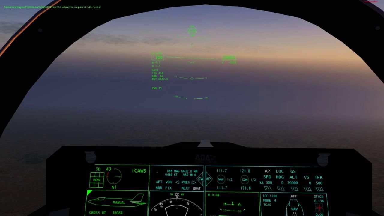 [X-Plane 10] VMFA-121 F-35 dead stick landing