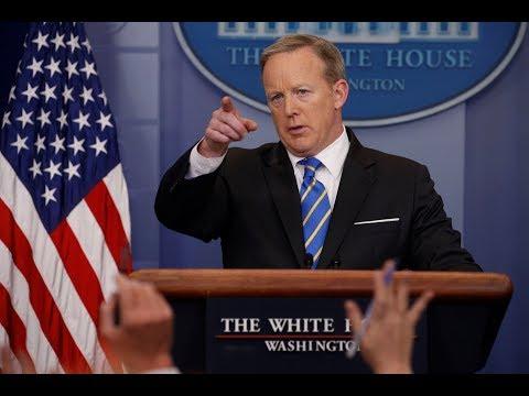 Sean spicer holds White House press...