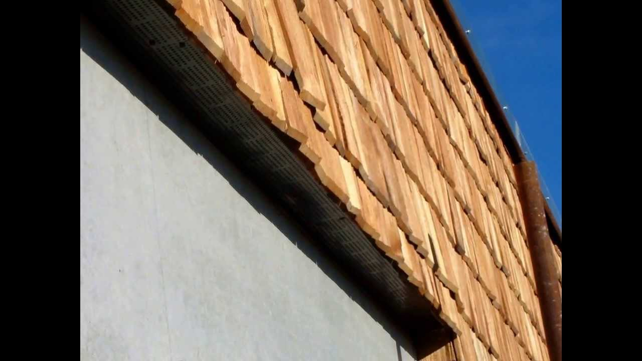 Rivestimento In Legno Per Facciate : Rivestimento di facciata edificio in legno con ventilazione youtube
