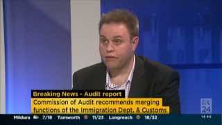 ABC News 24, Matt Grudnoff on the Commission of Audit 1 May 2014