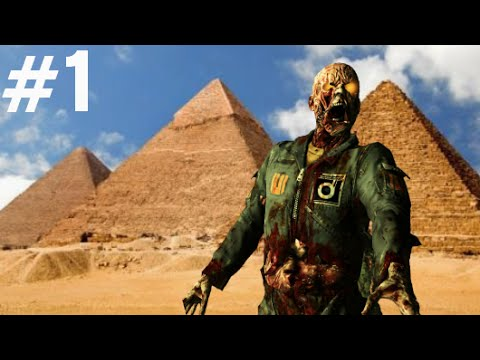 "EGYPT ZOMBIES #1 ""Call of Duty Zombies"" Custom Zombies Easter Egg Gameplay"