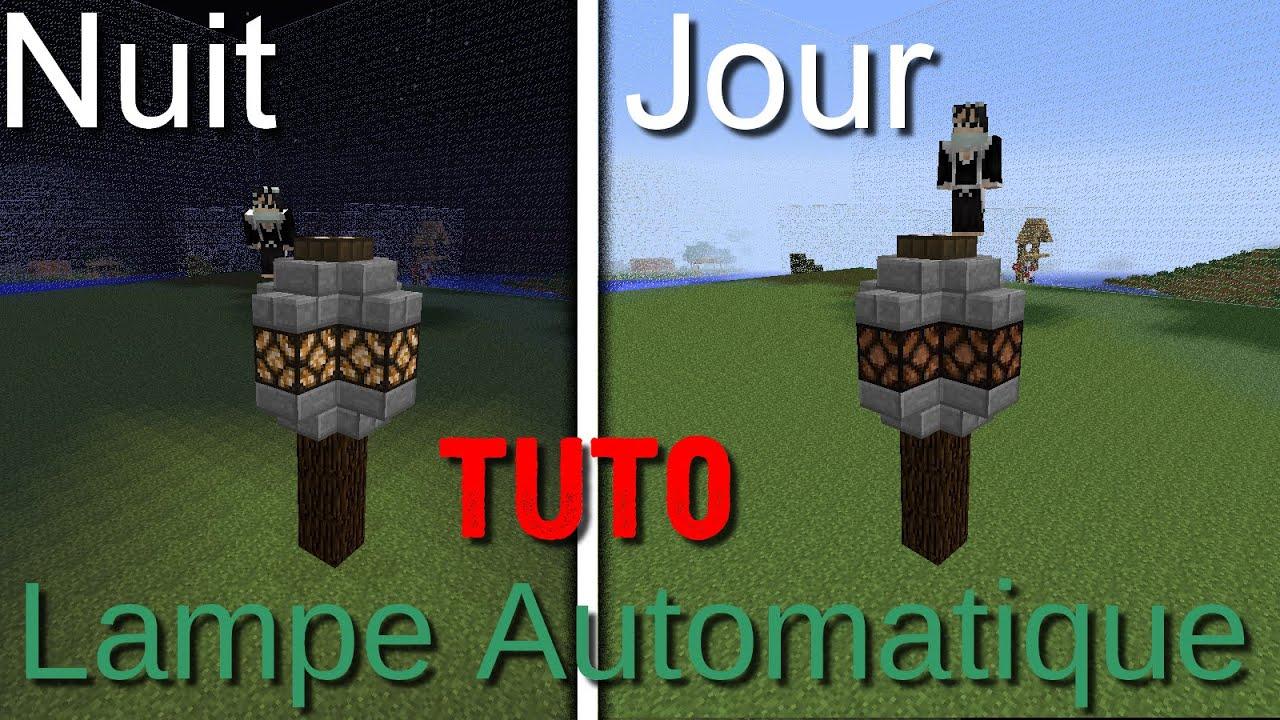 Tuto Lampe Minecraft Automatique Journuit Fr Mrtimux62