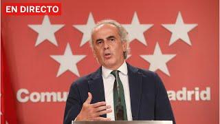 DIRECTO #CORONAVIRUS | RUIZ ESCUDERO explica las nuevas MEDIDAS en MADRID