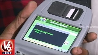 GHMC Introduce Biometric Attemdance System In Sanitation Department | Hyderabad | V6 News